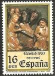 Stamps Spain -  2729 - Navidad, La Natividad en Tortosa, Tarragona