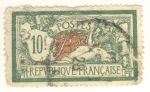 Sellos de Europa - Francia -  Merson