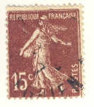 Sellos de Europa - Francia -  semeuse camée inscription grasse