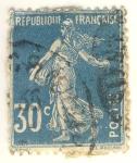 Sellos del Mundo : Europa : Francia : Semeuse Camée inscription grasse