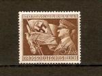 Stamps Europe - Germany -  Hitler y emblema nazi