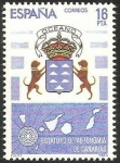 Stamps : Europe : Spain :  2737 - Estatuto de Autonomía de Canarias