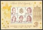 Stamps Europe - Spain -  2754 - exposición mundial de filatelia España 84, familia real española