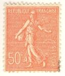 Stamps France -  Semeuse lignée