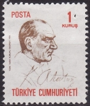 Sellos de Asia - Turquía -  Mustafá Kemal Atatürk