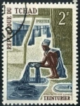 Stamps Chad -  Textil