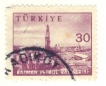 Stamps Asia - Turkey -  refineria petroleo