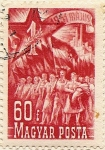 Sellos de Europa - Hungría -  1951 MAJUS