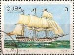 Stamps Cuba -  Veleros Cubanos