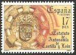 Sellos de Europa - España -  2741 - Estatuto de Autonomía de Castilla y León