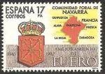 Stamps of the world : Spain :  2740 - Estatuto de Autonomía de la Comunidad Foral de Navarra