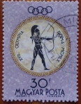 Stamps Hungary -  roma