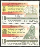 Stamps of the world : Spain :  2791 y 2792 - II Centº de la Bandera Española
