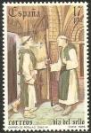 Sellos del Mundo : Europa : España :  2810 - Día del Sello, Correo de rótulas siglo XII