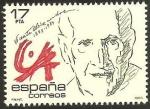 Sellos de Europa - España -  2808 - Vicente Aleixandre, Premio Nobel de Literatura 1977