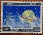 Stamps Peru -  la tierra