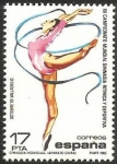 Stamps Europe - Spain -  2811 - XII Campeonato Mundial de Gimnasia Rítmica, Ejercicio con cintas