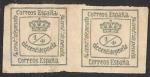Stamps Europe - Spain -  corona real