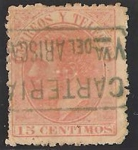 Stamps Europe - Spain -  210 - alfonso XII