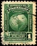 Sellos de America - Paraguay -  Cincuentenario de la Unión Panamericana.