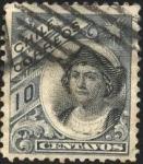 Stamps Chile -  Cristóbal Colón.