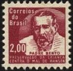 Sellos de America - Brasil -  Padre BENTO. Preservaci�n de la infancia contra el mal de HANSEN.