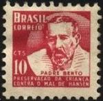 Sellos de America - Brasil -  Padre BENTO. Preservación de la infancia contra el mal de HANSEN.