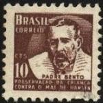 Sellos de America - Brasil -  Padre BENTO. Preservación de la infancia contra el mal de HANSEN..