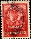 Stamps Paraguay -  León, gorro frigio y estrella de 5 puntas.