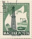 Stamps Hungary -  MAGYAR KÖOLAJ 1937-1962