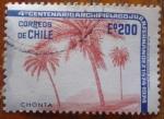 Sellos del Mundo : America : Chile :  palmeras