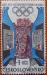 Stamps Europe - Czechoslovakia -  olimpiadas