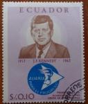 Sellos del Mundo : America : Ecuador : Kennedy