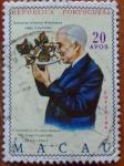 Stamps : Asia : Macau :  astrolabio