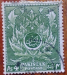 Stamps Pakistan -  escudo