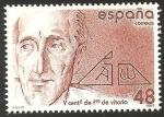 Stamps Spain -  2883 - V Centº del nacimiento de Francisco de Vitoria