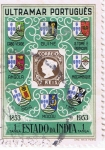 Stamps Europe - Portugal -  Ultramar Portugues Estado da India 1853 - 1953