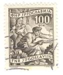Stamps Yugoslavia -  Obreros