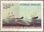 Stamps Chile -  Glorias Navales