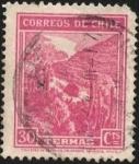 Sellos de America - Chile -  TERMAS.