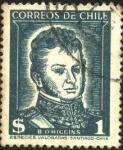 Sellos de America - Chile -  O'HIGGINS.