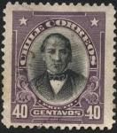 Stamps America - Chile -  Presidente José Joaquín Prieto Vial.