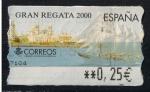 Stamps Spain -  ATMS  Gran Regata 2000