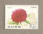Sellos de Asia - Corea del norte -  Flor