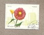 Stamps North Korea -  Flor