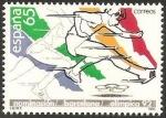 Stamps Spain -  2909 - Nominación de Barcelona como sede Olímpica 1992, atletismo