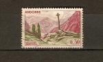 Sellos de Europa - Andorra -  Cruz gótica de Meritxell
