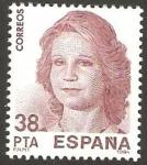 Stamps Spain -  2753 -  Exposición mundial de filatelia España 84, Elena de Borbón