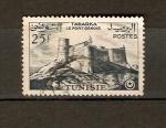 Sellos de Africa - Túnez -  Fuerte Genoese Tabarka