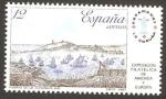 Sellos de Europa - España -  2913 - Exposición filatelica de España y América, Espamer 87, vista del puerto de La Coruña